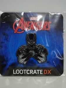 Marvel Avengers Black Panther Pin Loot Crate Dx Exklusiv