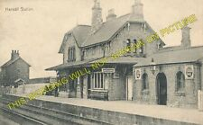 Hensall Railway Station Photo. Whitley Bridge - Snaith. Pontefract to Goole. (2)