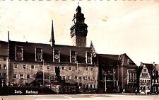 Zeitz , Rathaus , DDR , Ansichtskarte, gelaufen