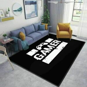 3D NEW Gamer Video Games Black Rug Doormat Door Floor Mat Carpet