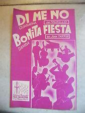 Partition Di me no. Truxillo Bonita Fiesta Jean Taffin Samba