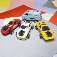 Vintage 1982 MEGO CREDIT CARD RACERS Lot Of Four Models! Rare In UK! No Cards