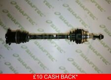 AUDI A4 8E Drive Shaft Front Left 2.0 2.0D 00 to 08 With ABS Manual Driveshaft