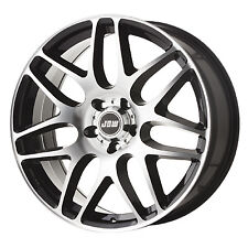 """20"""" JBW ROGUE BLACK/MACHINED ALLOY WHEELS+TYRES TO VW T5 T6 SET OF 4"""