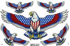 Aufkleber Sticker Adler 26x17 cm, US Eagle, Indianer Trucker Biker Auto Motorrad