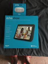 amazon echo show 10 W/ Echo Dot Clock Edition