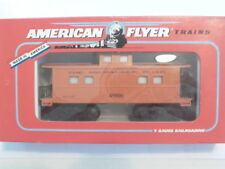 American Flyer #49006 Milwaukee Rd.Animated Caboose EXC+,Boxed WOW ! L@@K !