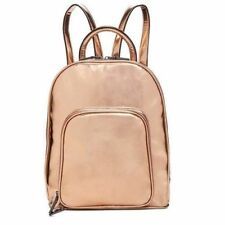 Inc International Concepts NWT $69 Pink-Gold Metallic Farahh Backpack Shoulder
