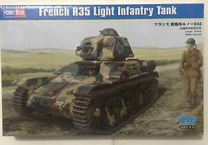 1:35 French R35 Light Infantry TANK 83806 Hobbyboss Model Kit