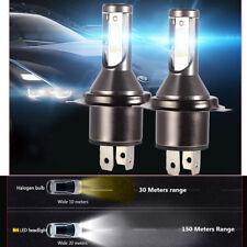 2Pcs H4 Car LED Headlight Headlamp 26000LM 6000K 110W Kit Conversion Bright Beam