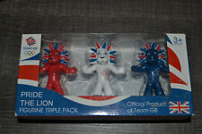 MASCOTTE       FIGURINES  JEUX  OLYMPIQUES  LONDRES  2012  TEAM GB