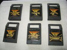 Lot Of 6 Vintage Magnavox Odyssey 2 Games.