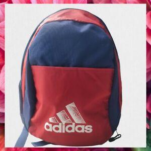 ⭐Genuine⭐ Retro ADIDAS School Backpack - Blue & Red