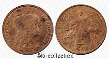 5 Centimes 1917. Dupuis. France. Bronze.