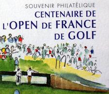 SOUVENIR PHILATÉLIQUE CENTENAIRE OPEN DE GOLF    NEUF