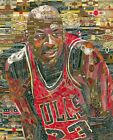 Cigar art wall decor gift Michael Jordan poster