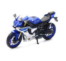 New Ray 1:12 Yamaha YZF R1 Modelo Juguete Moto Motocicleta Blanco y Azul