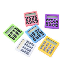 Student small Mini Electronic Calculator Candy Color Calculating Office 5HUK