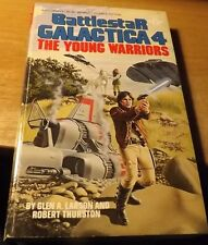 Vintage 1981 Berkley Paperback Battlestar Galactica #4 The Young Warriors 185pp