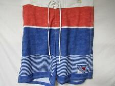 New York Rangers Mens Size Large Embroidered Swim Trunks C1 380