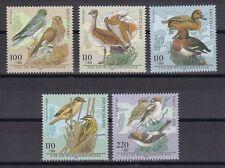 BRD 1998 postfrisch MiNr. 2015-2019  Bedrohte Vogelarten.