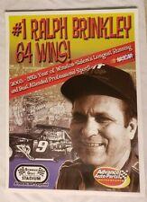 "Nascar Bowman Gray Stadium 64 Wins ""Ralph Brinkley""  24"" x 18"" Poster # 1 of 5"