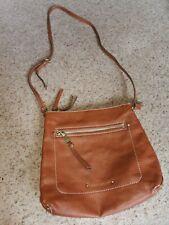 Lovely FIORELLI Classic Tan Faux Leather Messenger Bag/Shoulder Bag/Crossbody