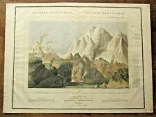 More details for 1821? thomson comparative mountains world lizars mountaineering himalaya andes