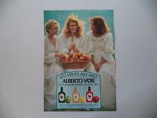 advertising Pubblicità 1977 SHAMPOO ALBERTO VO5 CULVER