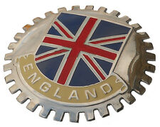 England Union Jack car grille badge (Sawtooth)