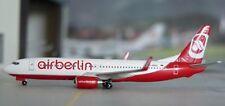 Herpa Air Berlin Boeing 737 1:500 Diecast Commercial AirlinesPlane Model 505079