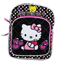 "Hello Kitty with yellow bear Toddler Backpack 10"" BackPack for Kids - BRAND NEW"