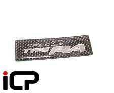 Carbon Fibre Spec C Boot Lid Badge Fits: Subaru Impreza WRX STi Spec C Type RA