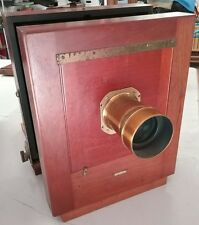 Antique Century Camera Co Studio Camera no. 4 # ? w DARLOT PARIS lens
