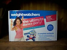 WEIGHT WATCHERS THE ULTIMATE DANCE PARTY WORKOUT KIT WEIGHT LOSS PRODUCT NEW
