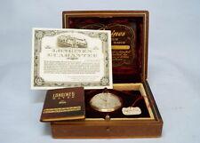 LONGINES  Taschenuhr 14K Gold  mit Etui und Papiere  um 1943    Pocket  Watch