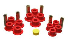 Energy Suspension Leaf Spring Bushing Set Red Rear for 01-04 Sierra 1500