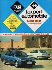 Revue Technique Automobile - Lancia Dedra - Essence et Diesel - N° 280 - 11/1990