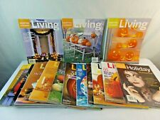 LOT OF 15 Martha Stewart Living Magazine Halloween October 1997 1999 2000 2019