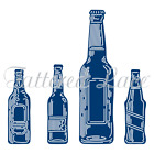 """Essentials by Tattered Lace Beer Bottles, Up To  0.98"""" x 3.90"""" TTLETL439 RETIRED"""