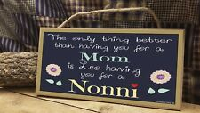 Personalized The Only Thing Better Custom Names Grandmother 5x10 SIGN Plaque