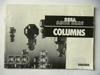 48620 Instruction Booklet - Columns - Sega Game Gear () 672-0423-50