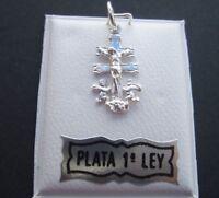 Colgante Cruz de Caravaca Plata de Ley 925 - Nuevo