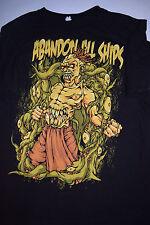 Abandon All Ships Vintage Scary Short Sleeve Tshirt Tee XL Metal Electronic