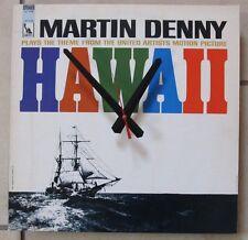 Martin Denny-Hawaii-Album Clock-Great Gift!*Free Shipping!-