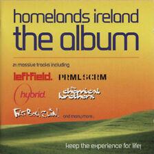 """Homelands Ireland"" - Ltd Edition-The Orb-Underworld-Prodigy-Leftfield-Sasha-NEW"