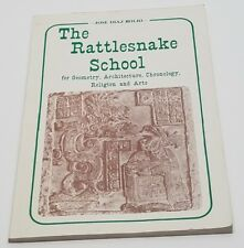 The Rattlesnake School by Jose Diaz Bolio S/C Book Signed by Author History Rare