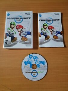 Mario Kart Wii (Nintendo Wii, 2008) ~ 100% Complete! Works Great!