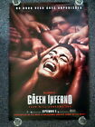 THE GREEN INFERNO 2010s Original Advance One Sheet Horror Movie Poster