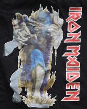 IRON MAIDEN t-shirt size L 1986 Live After Death Door Poster Boot Judas Priest